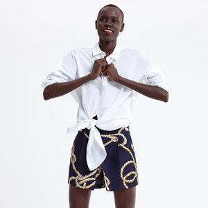 ZARA Nautical Knot Print Shorts